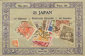 Stamp packet