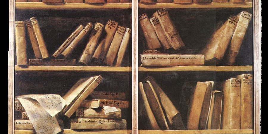 Bookshelf, by Crespi