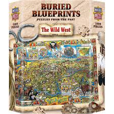 Buried Blueprints Wild West puzzle