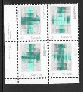 Canada 994 plate block