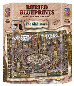 Buried Blueprints Gladiator Puzzle