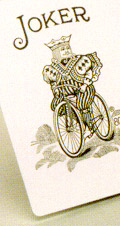 Bicycle joker card