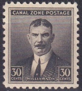 Canal Zone postage stamp