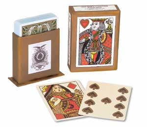 Civil War playing cards