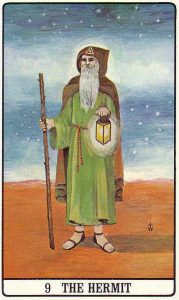 Golden Dawn Tarot Hermit