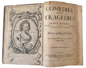 Beaumont and Fletcher book of plays