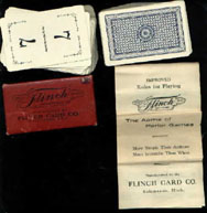 Vintage Flinch Card Game