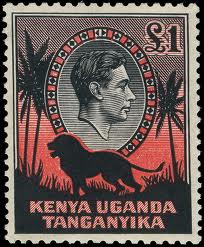 Kenya Postage Stamp